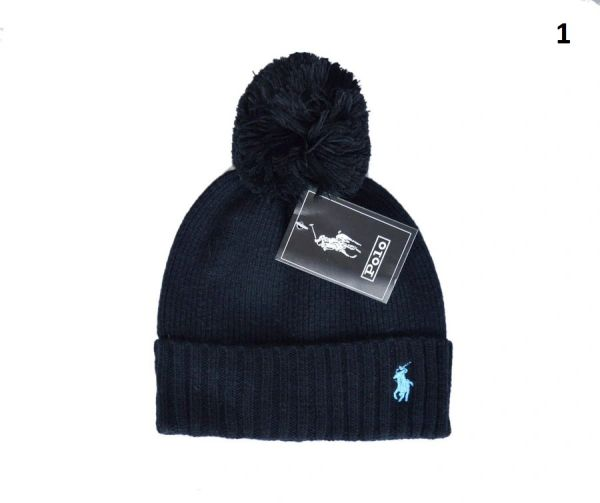 NEW Winter Original Polo Knit Wool Hat Catalog 1 (With Pom)