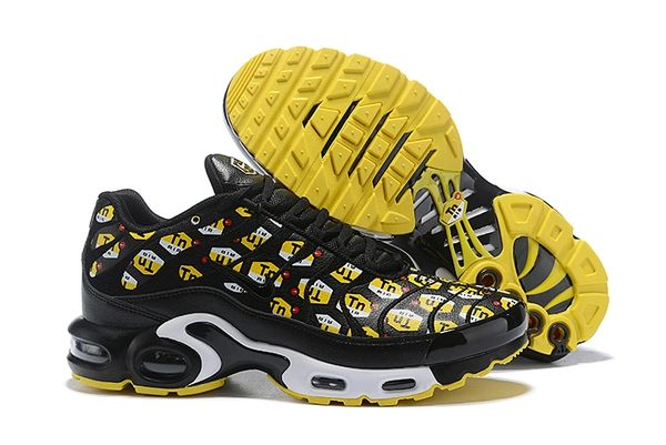 """NEW Black Nike Air Max Plus """"All Over Print"""" Running Shoe (Special Edition)"""