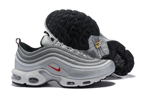 NEW Light Grey Nike Air Max 97 Plus Running Shoe