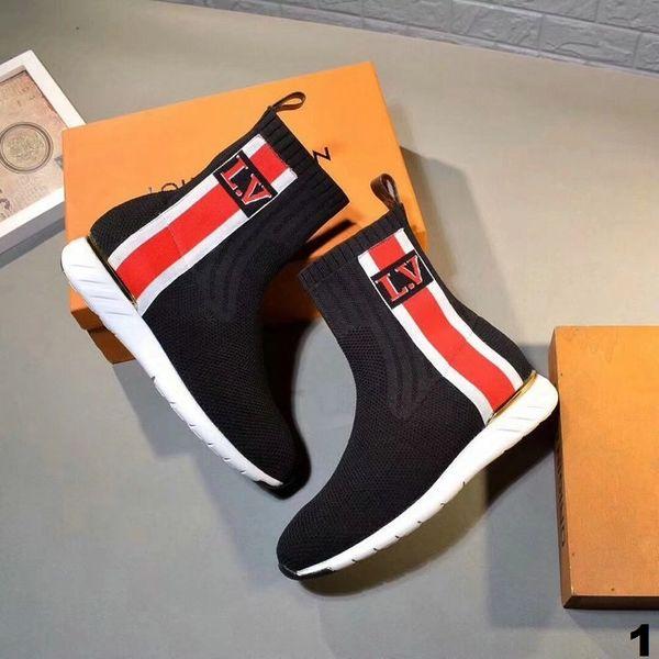New Ladies Original Louis Vuitton Sneaker Boot Catalog 1 (3 Colors Available)