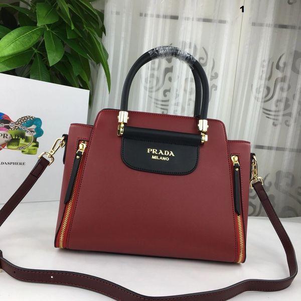 NEW 2018 Original Prada Handbag Catalog 9 (3 Colors Available)