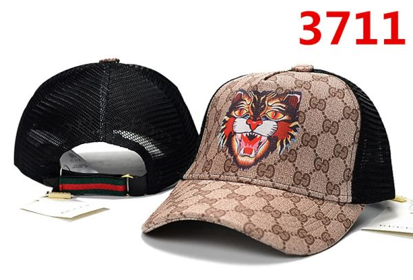 Summer Gucci Embossed Embroidered Printed Baseball Cap Catalog 101 (7 Colors Available)