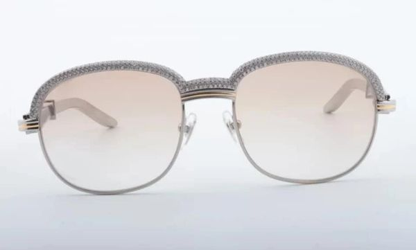 NEW Unisex Silver/Black Diamond Plated Cartier Malmaison Palisander Glasses (Special Edition) (Free Express Shipping)