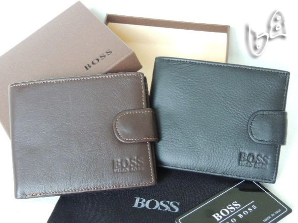 Men's Hugo Boss Custom Leather Subway Wallet E