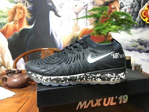 NEW 2019 Black Silver Nike Air MAX UL' 19 Running Shoe