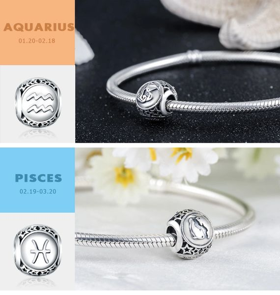Real 925 Sterling Silver Crafted Pandora & Universal Charms Catalog 29 (6 Charms To Choose From) (Free 7 Day Shipping If You Purchase 10 Or More Charms)
