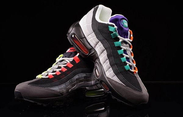 "Ladies Nike ""What The"" Air Max 95 Sneakers (Limited & Special Editions)"