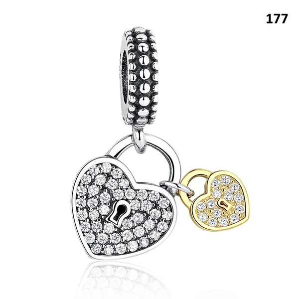 Real 925 Sterling Silver Crafted Pandora & Universal Charms Catalog 20 (6 Charms To Choose From) (Free 7 Day Shipping If You Purchase 10 Or More Charms)