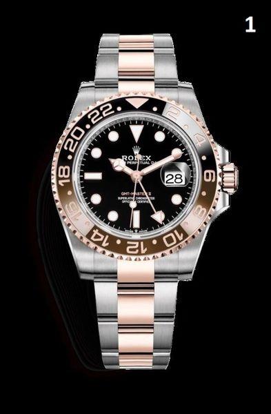 NEW Rolex GMT-Master Luxury Timepiece Catalog (90% Off Retail Price)