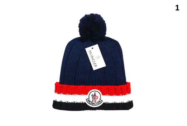 NEW Winter Original Moncler Knit Wool Hat (With Pom)