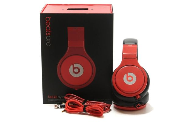 Beats by Dr. Dre Original Pro Over-Ear Black/Red Headphones