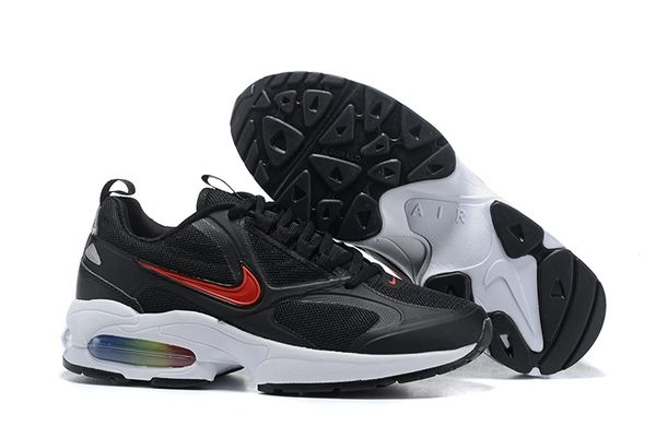 NEW Black Red Nike Air MAX2 Light Running Shoe