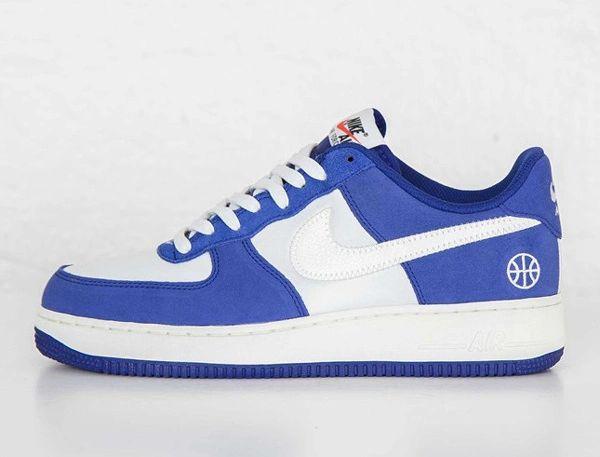 Men's Nike Air Force 1 07 Low Deep Royal Blue Sai-Phantom Sneakers