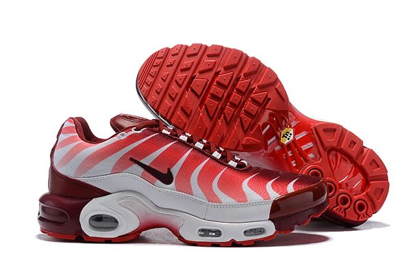 NEW Red White Nike Air Max Plus TN SE Running Shoe (Special Limited Edition)