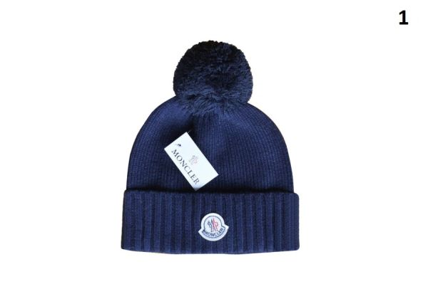 NEW Winter Original Moncler Knit Wool Hat Catalog 3 (With Pom)
