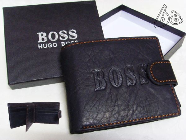 Men's Hugo Boss Custom Leather Wallet F