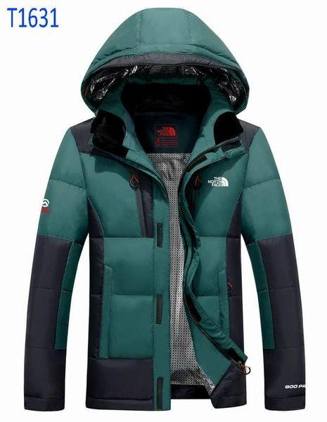 Men's The North Face T1630-31 Custom Nuptse Ridge Parka Jacket (6 Colors Available)