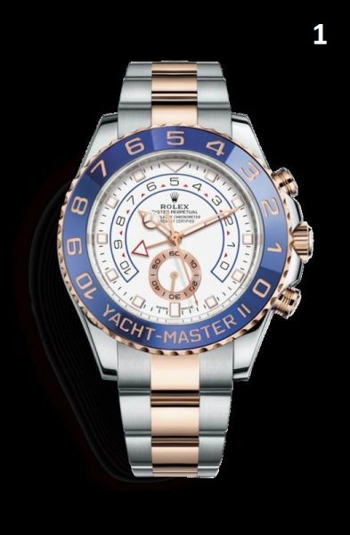 NEW Rolex Oyster Perpetual Yacht-Master Luxury Timepiece Catalog (90% Off Retail Price)