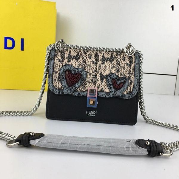 NEW 2018 Original Fendi Handbags Catalog 8 (4 Colors Available)