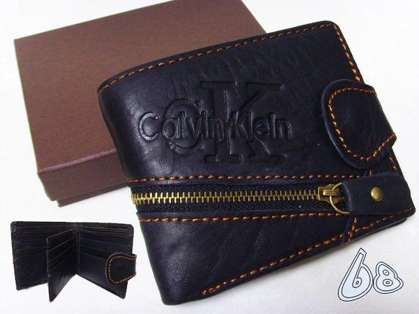 Men's Calvin Klein Jeans Custom Embossed Logo Billfold Wallet B