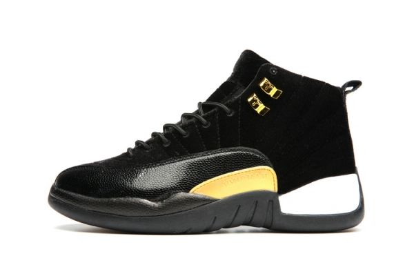 "Air Jordan 12 Retro ""Black Leather Suede"" Sneaker (Special Limited Edition)"