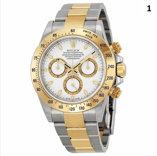 NEW Rolex Cosmograph Daytona Luxury Timepiece Catalog 1 (90% Off Retail Price)