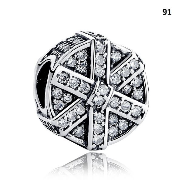 Real 925 Sterling Silver Crafted Pandora & Universal Charms Catalog 10 (8 Charms To Choose From) (Free 7 Day Shipping If You Purchase 10 Or More Charms)
