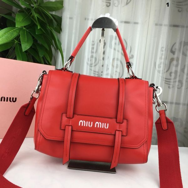 NEW 2018 Original Miu Miu Handbags Catalog 3 (4 Colors Available)