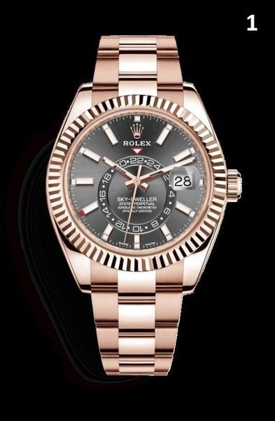 NEW Rolex Oyster Perpetual Sky-Dweller Luxury Timepiece Catalog 2 (90% Off Retail Price)