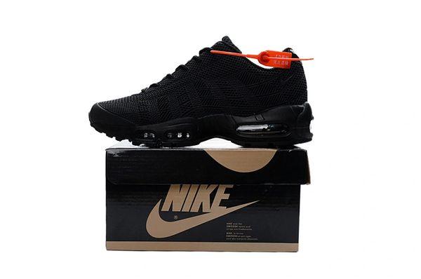 Ladies Nike Air Max 95 iD All Black Shoes