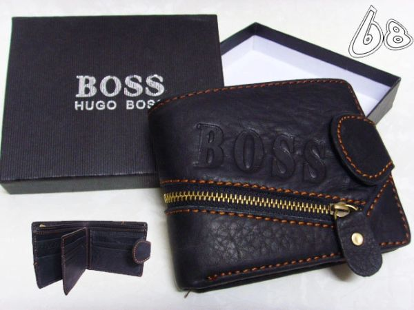 Men's Hugo Boss Custom Leather Wallet G