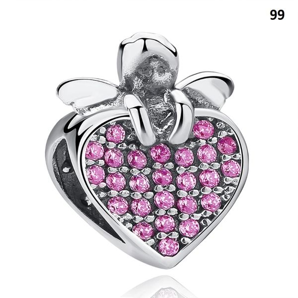 Real 925 Sterling Silver Crafted Pandora & Universal Charms Catalog 11 (6 Charms To Choose From) (Free 7 Day Shipping If You Purchase 10 Or More Charms)