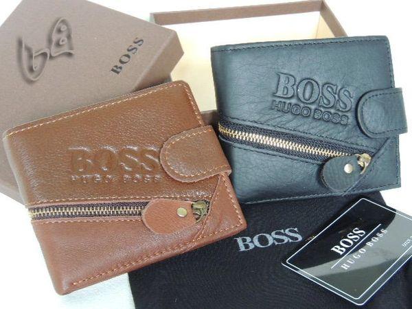 Men's Hugo Boss Custom Leather Subway Wallet D