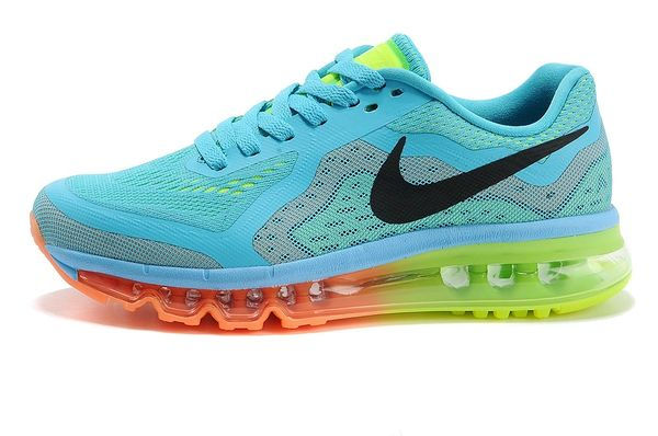 Nike 2014 Retro Jade Green Air Max Running Shoe