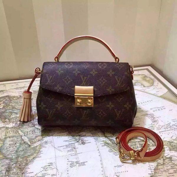 Vintage Louis Vuitton Croisette Handbag