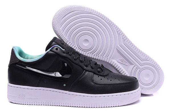 Men's Nike Air Force 1 Low Northern Lights Black & White Sneakers