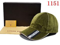 Louis Vuitton Monogram Canvas Baseball Cap (Men's)