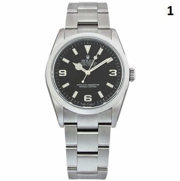 NEW Rolex Oyster Perpetual Explorer Luxury Timepiece Catalog (90% Off Retail Price)