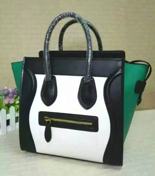 Vintage Multi-Color Celine Phantom Luxurious Leather Handbag