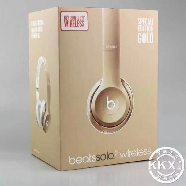 Beats Solo2 Wireless Special Gold Edition Headphones (Limited Edition)