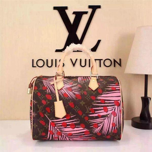 Vintage Louis Vuitton Speedy 30 Series Handbag