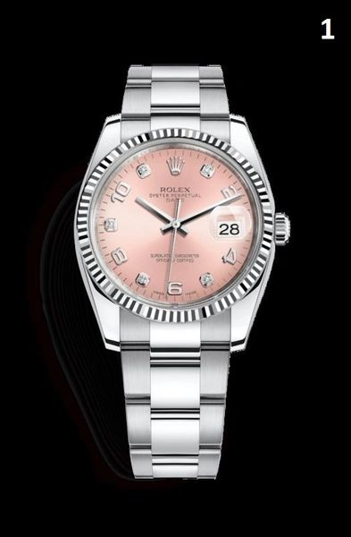 NEW Rolex Oyster Perpetual Date Luxury Timepiece Catalog (90% Off Retail Price)