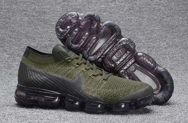 2018 Army Green Nike Air Vapor Max Flyknit 2
