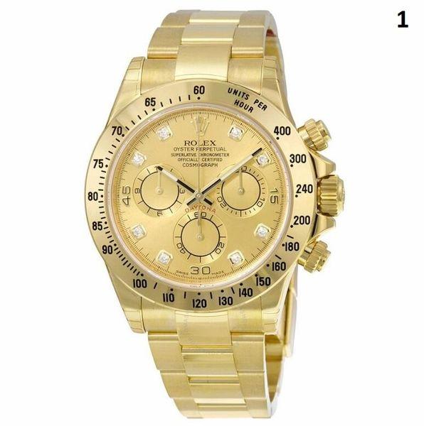 NEW Rolex Cosmograph Daytona Luxury Timepiece Catalog 5 (90% Off Retail Price)