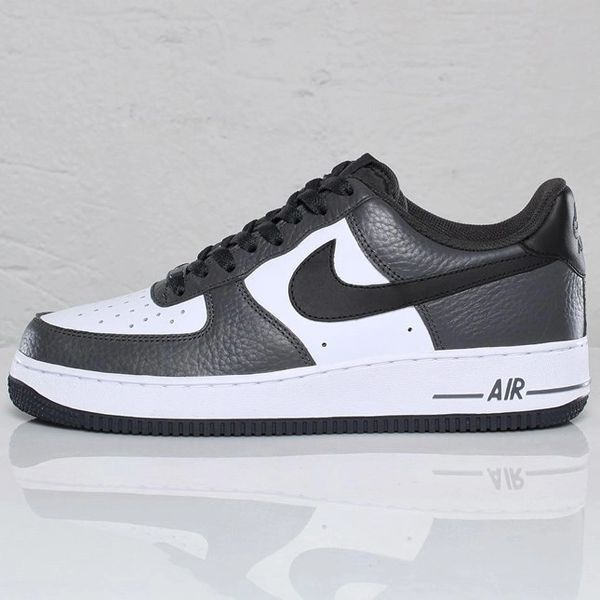 Men's Nike Air Force 1 Low 07 Anthracite Black & White Sneakers