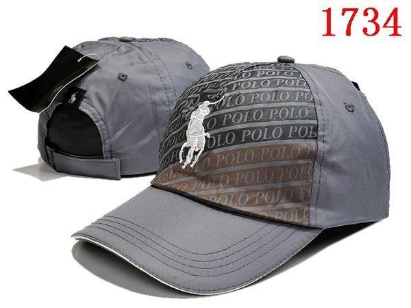 Vintage Polo Big Pony Logo Hat Cap (Extended Colors)