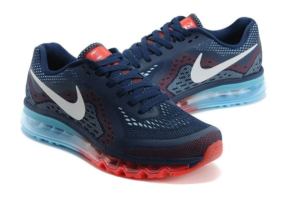 Nike 2014 Retro Midnight Navy Air Max Running Shoe