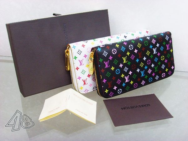 Ladies Louis Vuitton Custom Multicolore Insolite Wallet