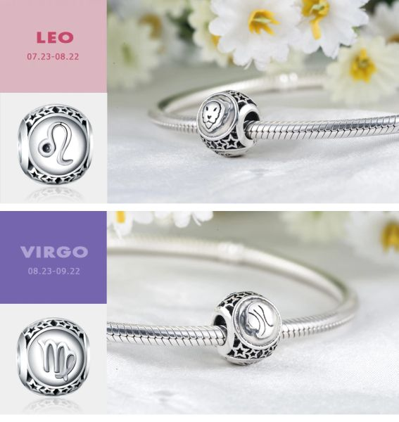 Real 925 Sterling Silver Crafted Pandora & Universal Charms Catalog 30 (6 Charms To Choose From) (Free 7 Day Shipping If You Purchase 10 Or More Charms)