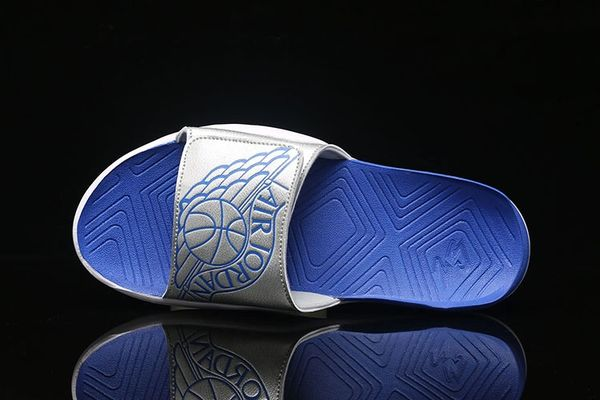 NEW Air Jordan Hyper Royal Hydro 7 Sandals